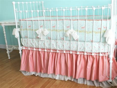 forest baby bedding sold out coral fawn forest baby bedding set lottie da baby