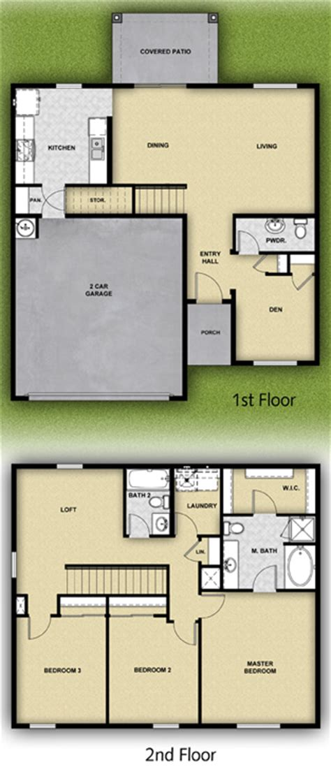 Lgi Homes Floor Plans by Lgi Homes La Luz Floor Plan