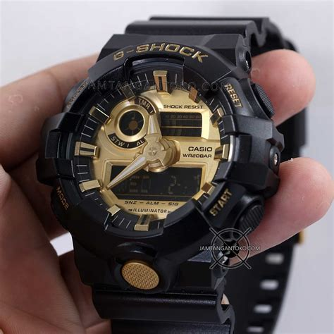 G Shock 5369 Rantai Black Gold g shock ori bm ga 710gb 1a black gold toko jam tangan