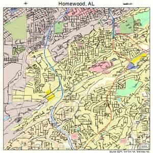 homewood alabama street map 0135800