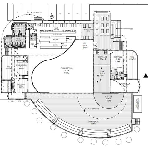 venue floor plans music venue design barefoot building design