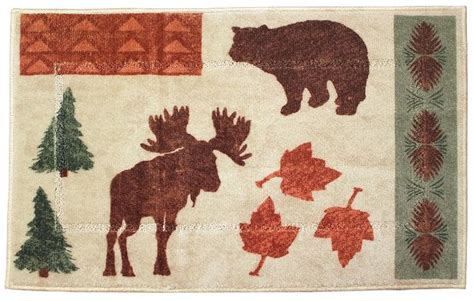 country bathroom rugs 17 best cabin lodge decor images on lodge decor cabin and cottage