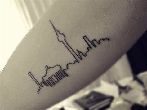 berlin tattoo berlin city skyline ink skyline