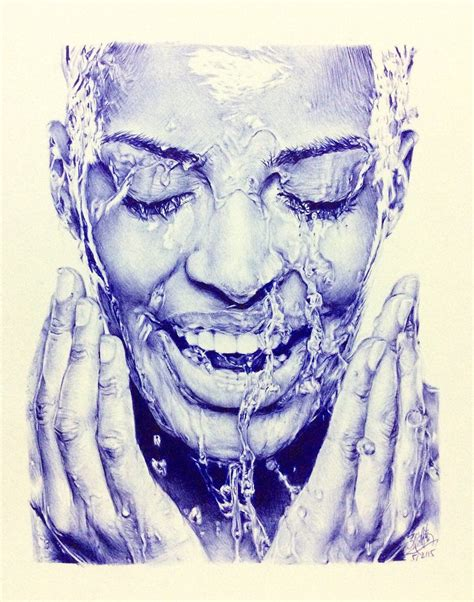 Sketches In Pen by Bic Ballpoint Pen Drawing By Chaseroflight Deviantart