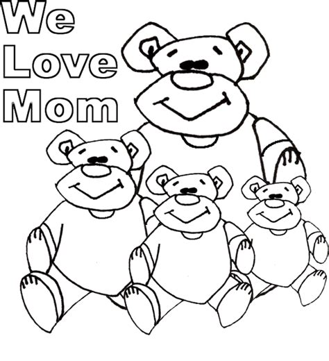 i love you mom coloring pages free coloring pages