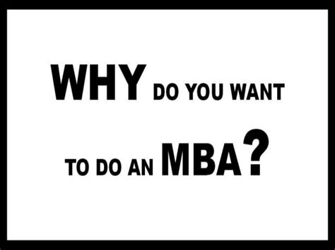 When Are You To Get An Mba by How To Get An Mba Degree