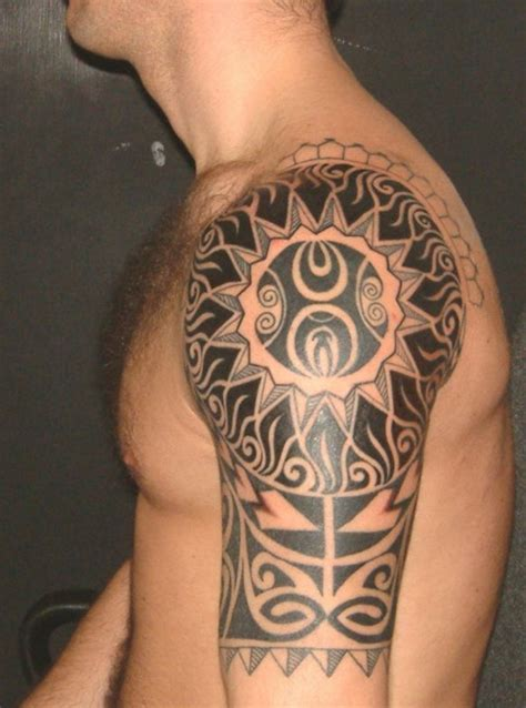 amazing arm tribal tattoo design for men tattoos for men