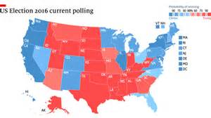 us map election 2016 us election 2016 polling the state of the race the