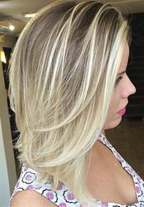 does ombre work with medium layered hair length 70 brightest medium length layered haircuts and hairstyles