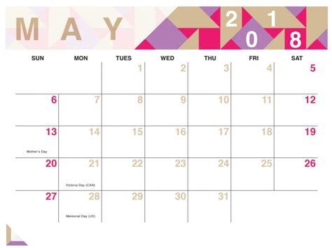 may 2018 calendar printable may 2018 calendar with holidays printable