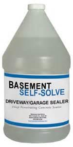 basement sealer products concrete driveway and garage floor sealer
