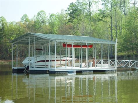 floating aluminum boat house wahoo floating aluminum boat dock with double boat slips