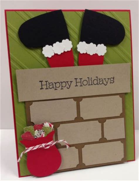 santa cards to make best 25 diy cards ideas on