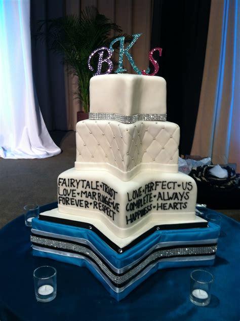 hale koa banyan room awesome star shaped wedding cake