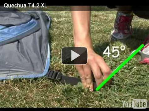 come si monta una tenda come si monta una tenda quechua t4 2 xl