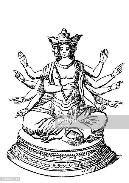 Shiva Stock Illustrations And Cartoons | Getty Images