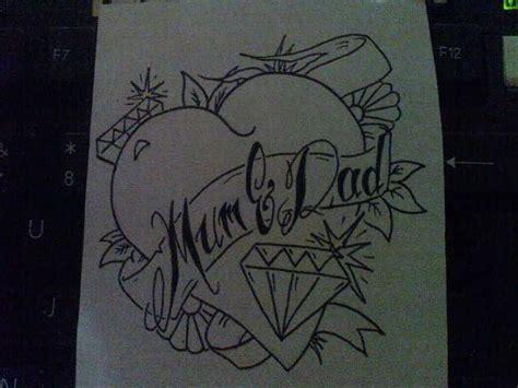 mum and dad tattoo designs images designs