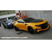 Transformers 5 The Last Knight Vehicle Walkarounds With Bumblebee