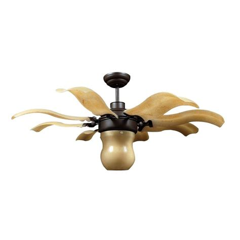 home depot ceiling fans vento fiore 42 in bronze retractable ceiling fan j