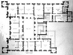 downton abbey castle floor plan castles south east england and floors on pinterest