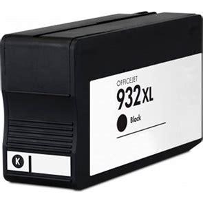 Tinta Printer Hp 932 Xl hp 932xl negro cartucho de tinta generico cn053ae