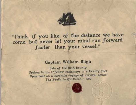 the open boat famous quotes captain bligh think 1789 piratedocuments