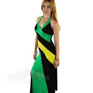 jamaican color dress jamaican halter dress rastaempire