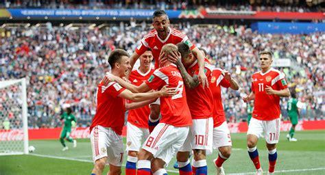 vs russia world cup live updates russia smashes saudi squad 5 0 in fifa world