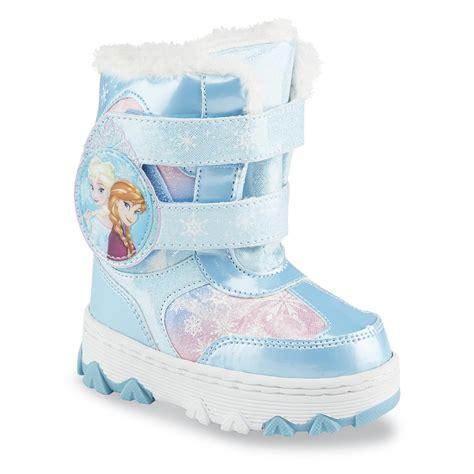 frozen boots disney toddler s frozen faux fur snow boot
