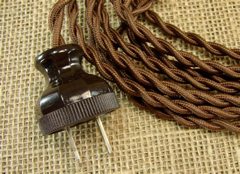 cord style vintage style extension cord cloth extension cord 12