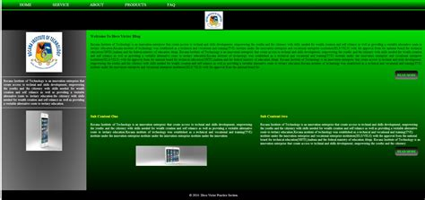 simple website layout free source code tutorials and