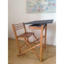 bureau enfant pliable chaise d 233 colier design au bois clair chaise 233 colier
