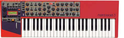 Nord Rack 3 by Nord Lead 3 Nord Keyboards