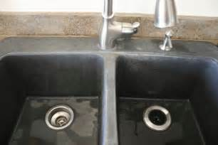 How To Clean A Black Kitchen Sink Black Granite Composite Sink 3 Kitchen Project