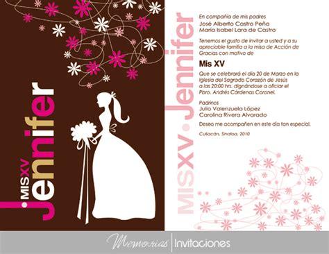 imagenes de invitaciones originales para xv años memorias invitaciones 171 invitaciones originales