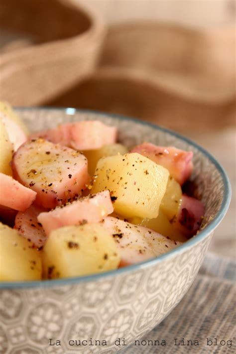 come cucinare il totano insalata totano e patate ricetta facile e sfiziosa la
