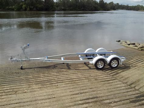 aluminum tandem boat trailers seatrail aluminium 6 2m boat trailer tandem ausmarine