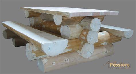 meuble en rondin de bois conceptions architecturales
