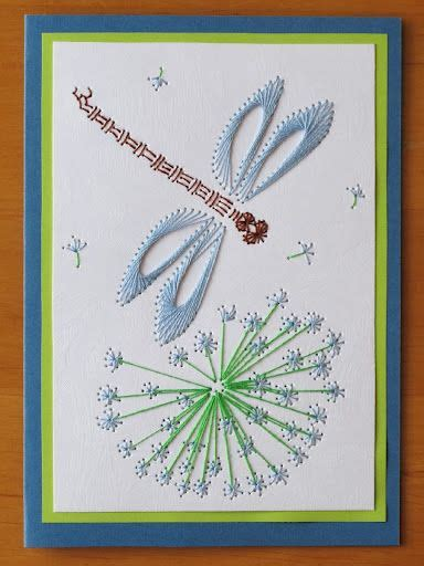 fly pattern trading cards libelula stitching cards pinterest fly paper paper