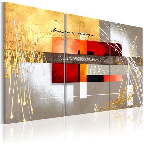 Tableau De Decoration Moderne by Peinture Ville Abstraite