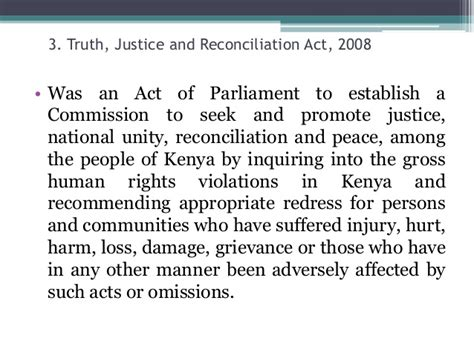 section 3 of the human rights act a historical background to kenya s constitutional reform