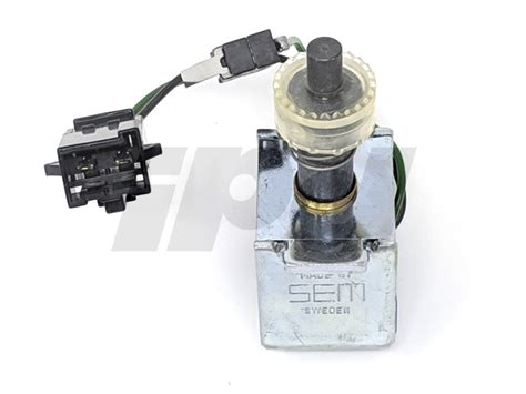shift interlock solenoid     genuine volvo