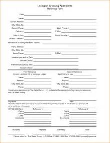 personal reference template for renting 3 rental reference form printable receipt