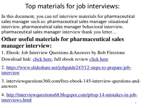 top 42 pharmaceutical sales manager questions