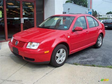 2002 Tornado Red Volkswagen Jetta Gls Sedan 31426381