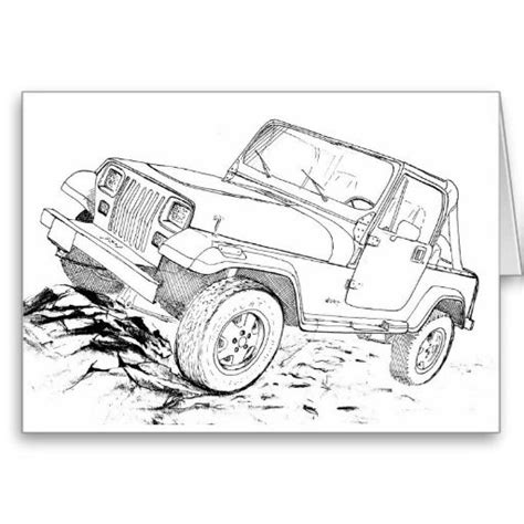 jeep renegade coloring page 181 best yj images on pinterest jeep renegade coloring page