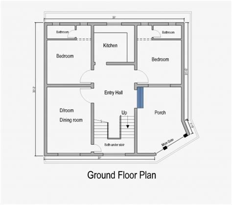 ground floor house plans photo of punjabi house ground floor map house plan ideas