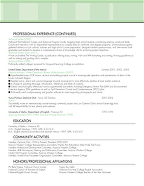 resume complete format resume sles and resume exles