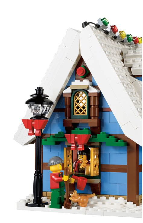 lego winter cottage lego forums toys n bricks