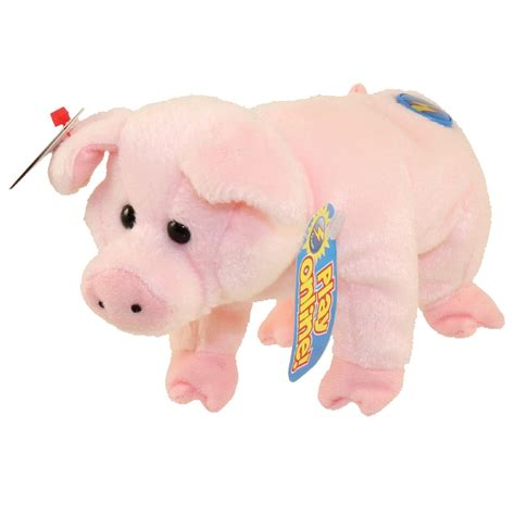 stuffed pig ty beanie baby 2 0 sniffs the pig 5 inch bbtoystore